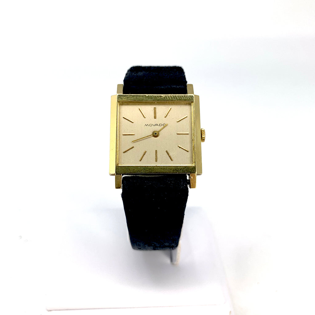 14k Vintage Men's Movado Zenith Watch