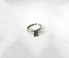 GORGEOUS Princess Cut 0.70ctw Diamond 14K White Gold Ring