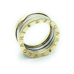 Bvlgari #40152 B Zero-1 18k Two Tone 10mm Band - Sz. 58.5