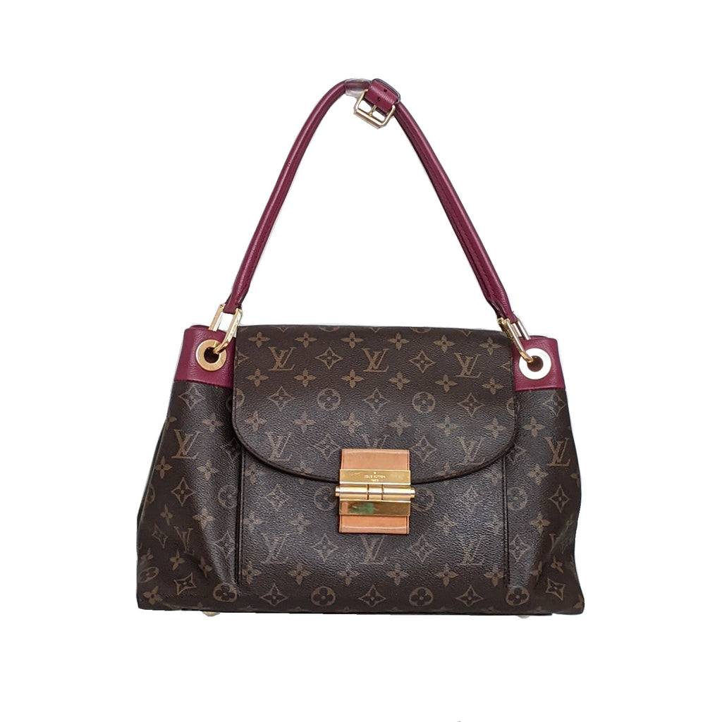 Louis Vuitton Monogram Canvas Olympe MM Tote