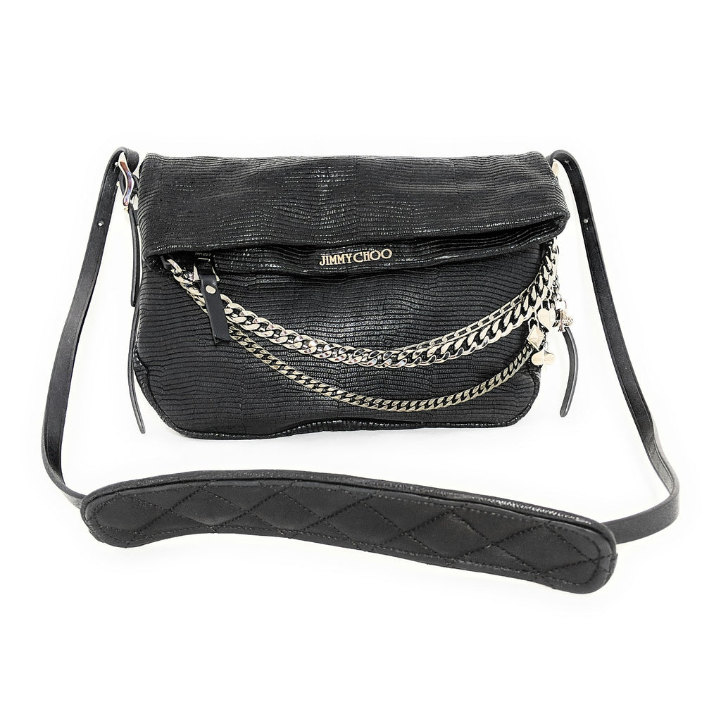 Jimmy Choo Boho Biker Shoulder Crossbody Bag
