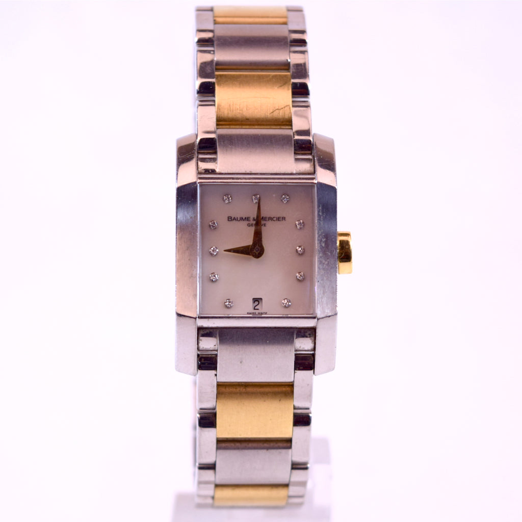 Baume & Mercier DIAMANT (M0A08738) Two-Tone Stainless Steel and Gold Watch