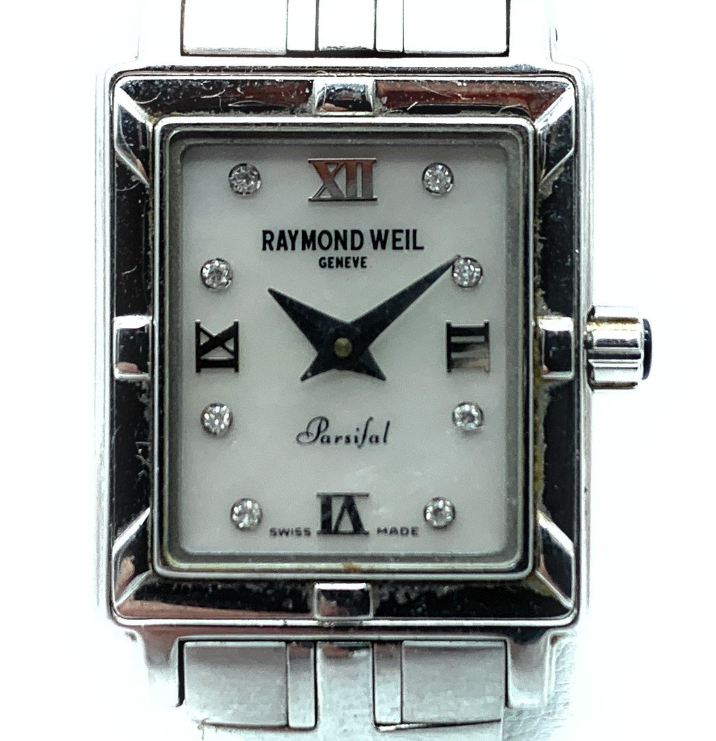 Raymond Weil Parsifal Stainless Steel & Diamond Ladies Watch