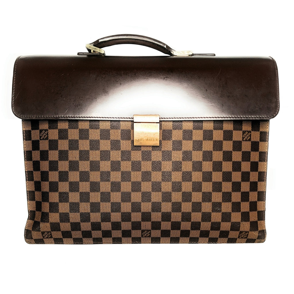 Louis Vuitton Damier Ebene Portfolio Altona GM Briefcase