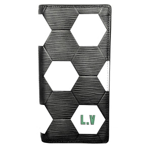 Louis Vuitton EPI World Cup 2018 Brazza Wallet Black