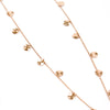 Ippolita Sterling Silver with 18K Rose Gold Plated Disc Chain Necklace