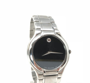 Movado Museum Black Men's Watch Model 84 G2 1894