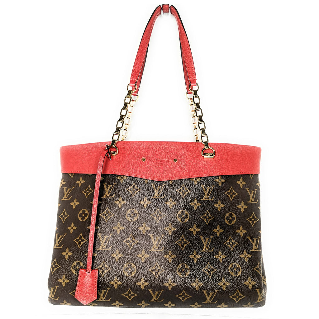 Louis Vuitton Monogram Canvas Pallas Shopper