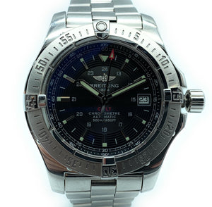 Breitling Colt 41mm Black Dial Automatic Steel Men's Watch A17380