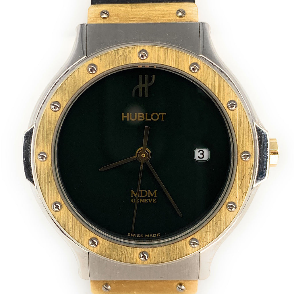 HUBLOT MDM Green Dial Ladies Watch - 1391.2.044