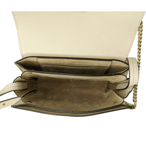 Chloé Metallic Gold Small Faye Cross-body Shoulder Bag
