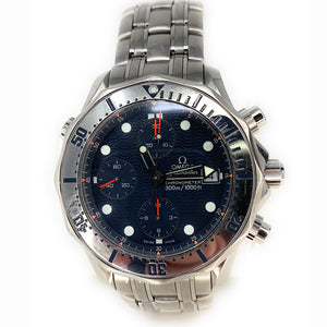 OMEGA Seamaster Professional Men's Chronometer Automatic black (SS) Watch