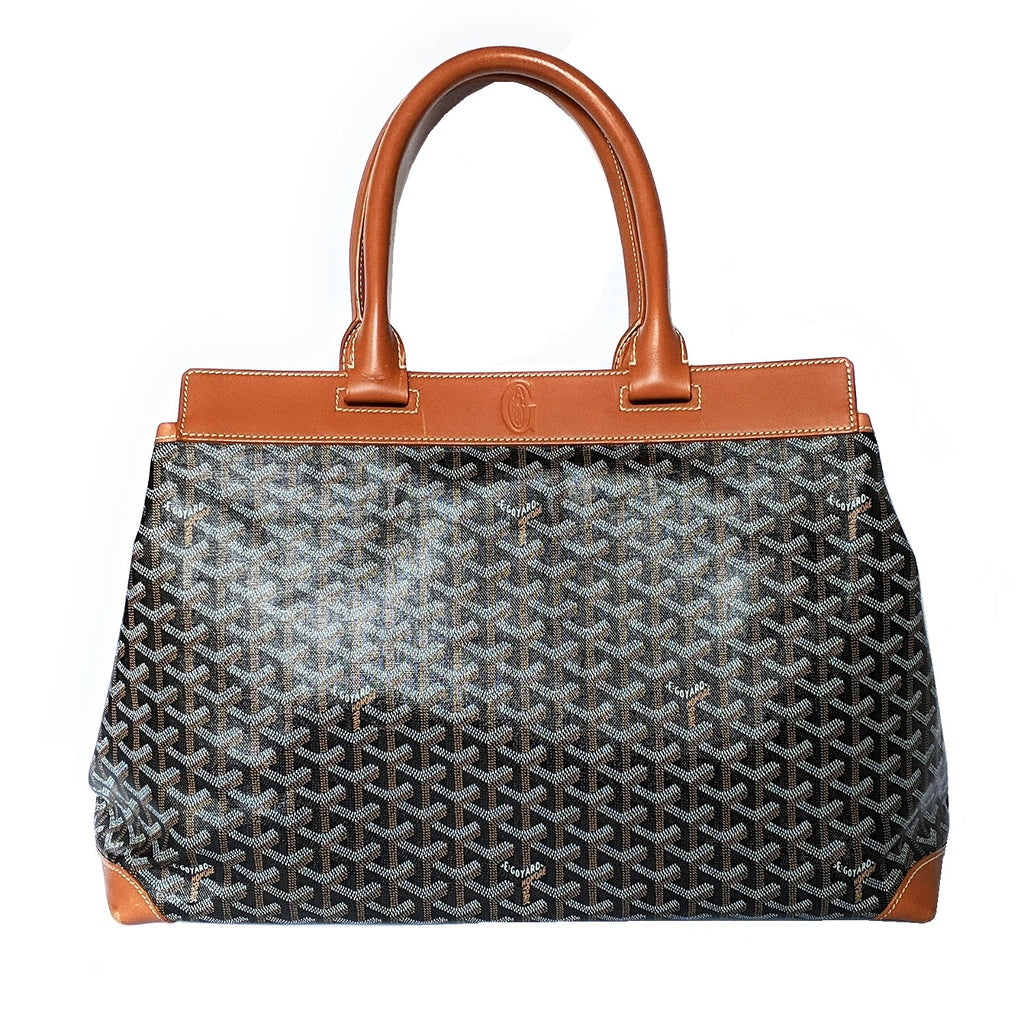 Goyard Goyardine Coated Canvas Bellechasse GM Tote