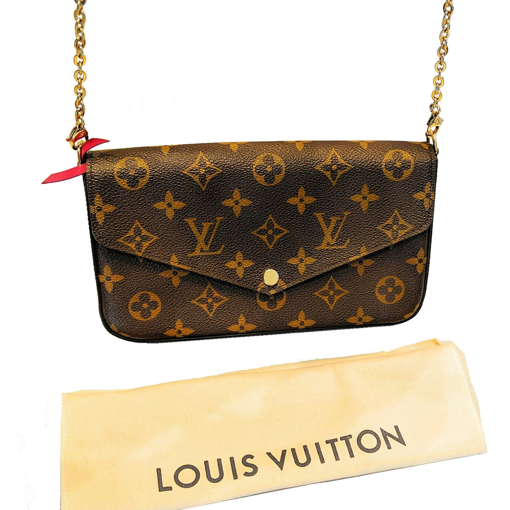 Louis Vuitton Monogram Canvas Pochette Félicie Shoulder Bag