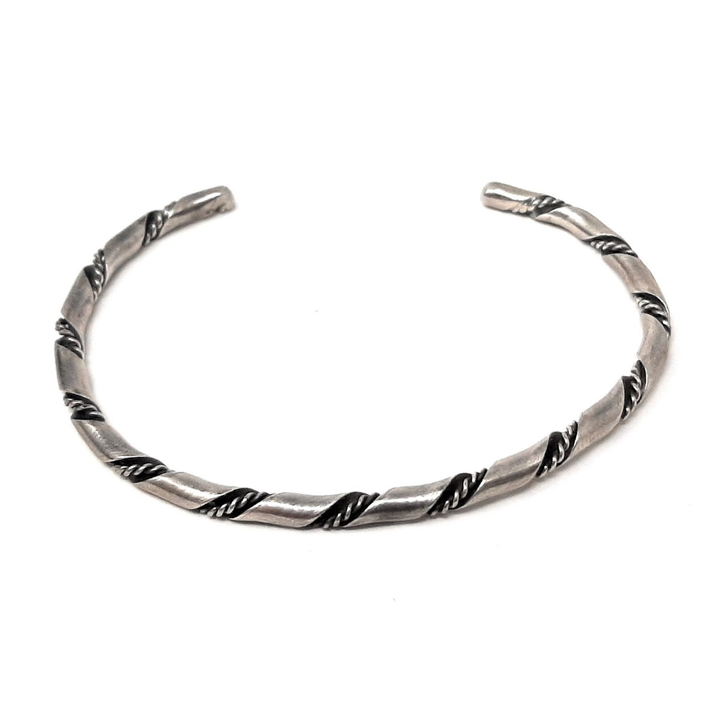 Native American Petite Twisted Rope Cuff Bracelet