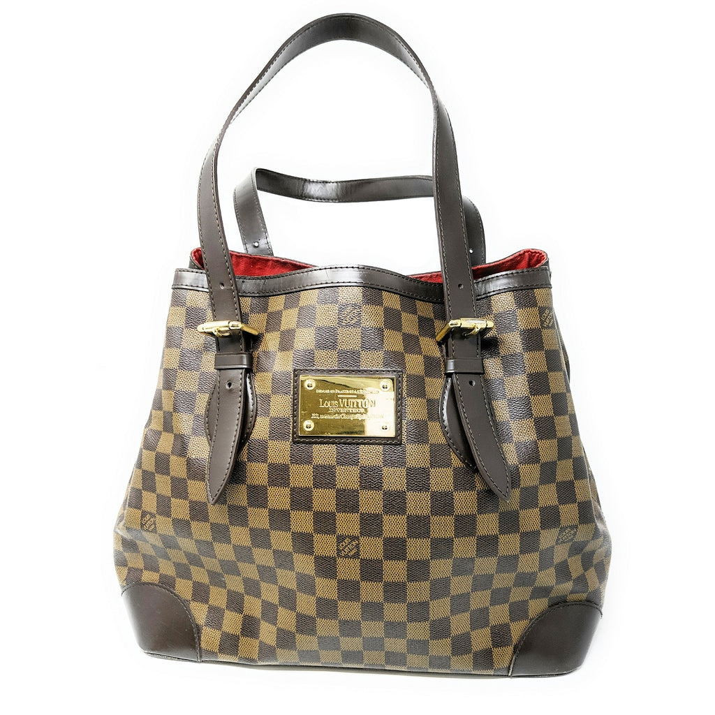 Louis Vuitton Damier Ebene Hampstead MM Shoulder Bag
