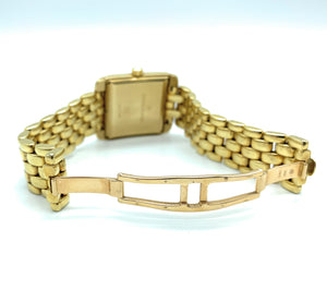 Alfred Hammel Royal Yacht 18K Yellow Gold Ladies Watch