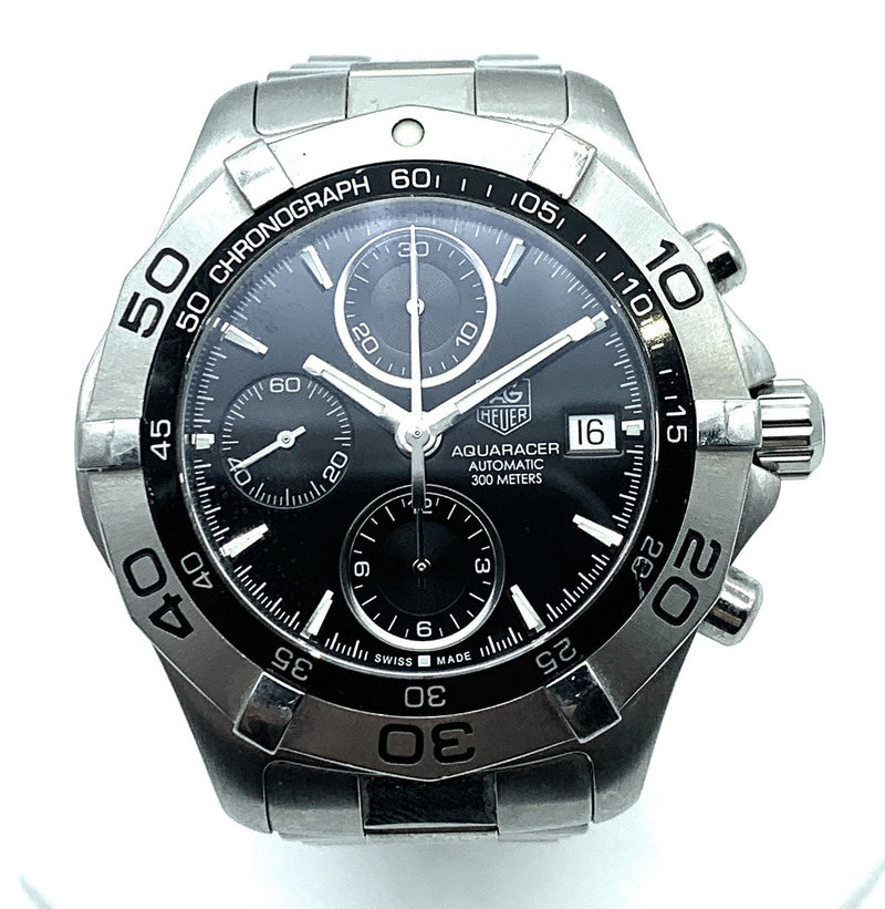 TAG Heuer Men's CAF2110 Aquaracer Chronograph Stainless Steel Watch