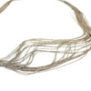 Liquid Silver 30 Strand Sterling Silver Necklace