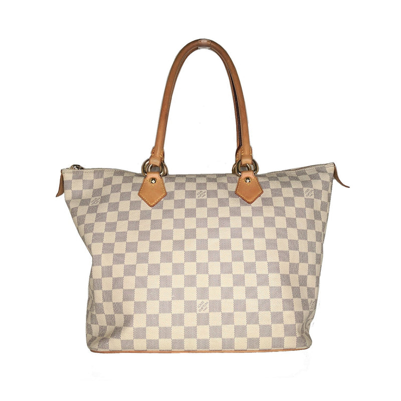 Louis Vuitton Damier Azur Saleya MM Tote