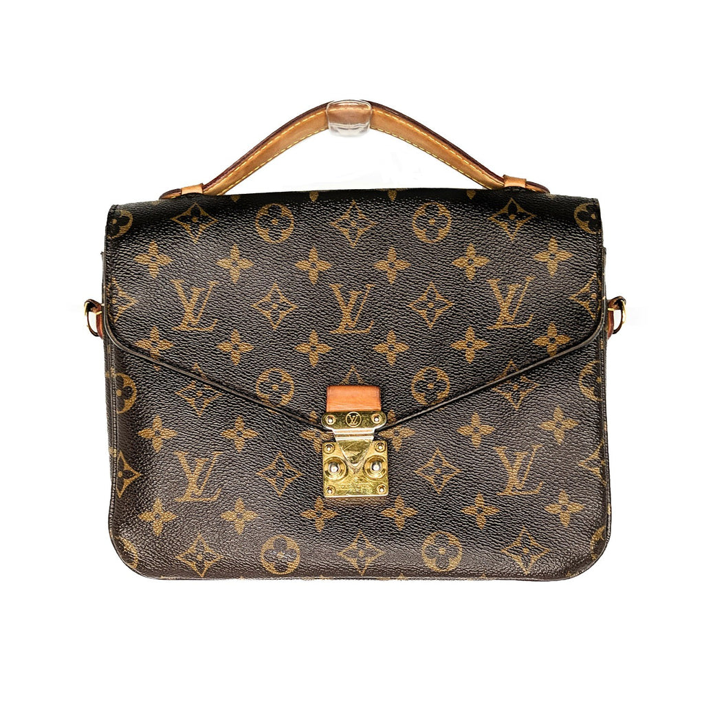 Louis Vuitton Monogram Canvas Pochette Metis Handbag