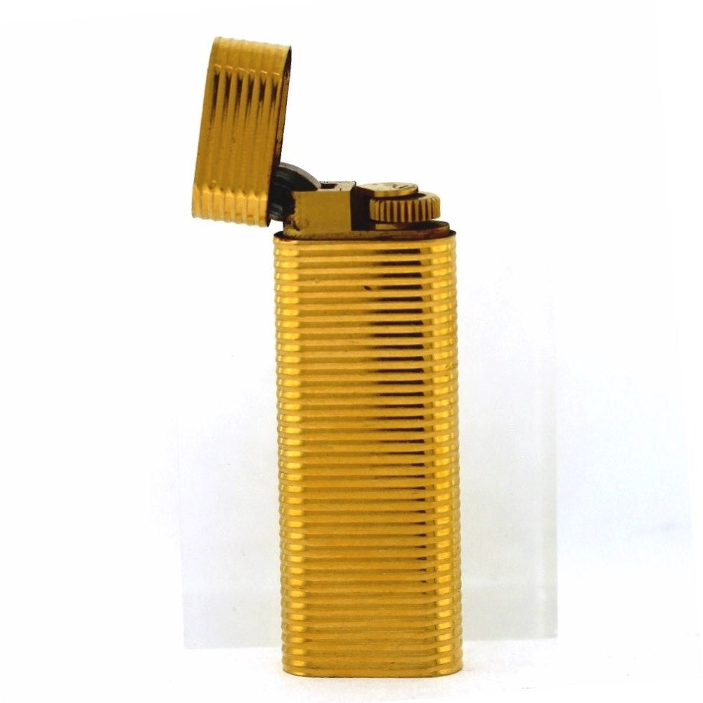Vintage MCM Cartier Gold Plated Lighter