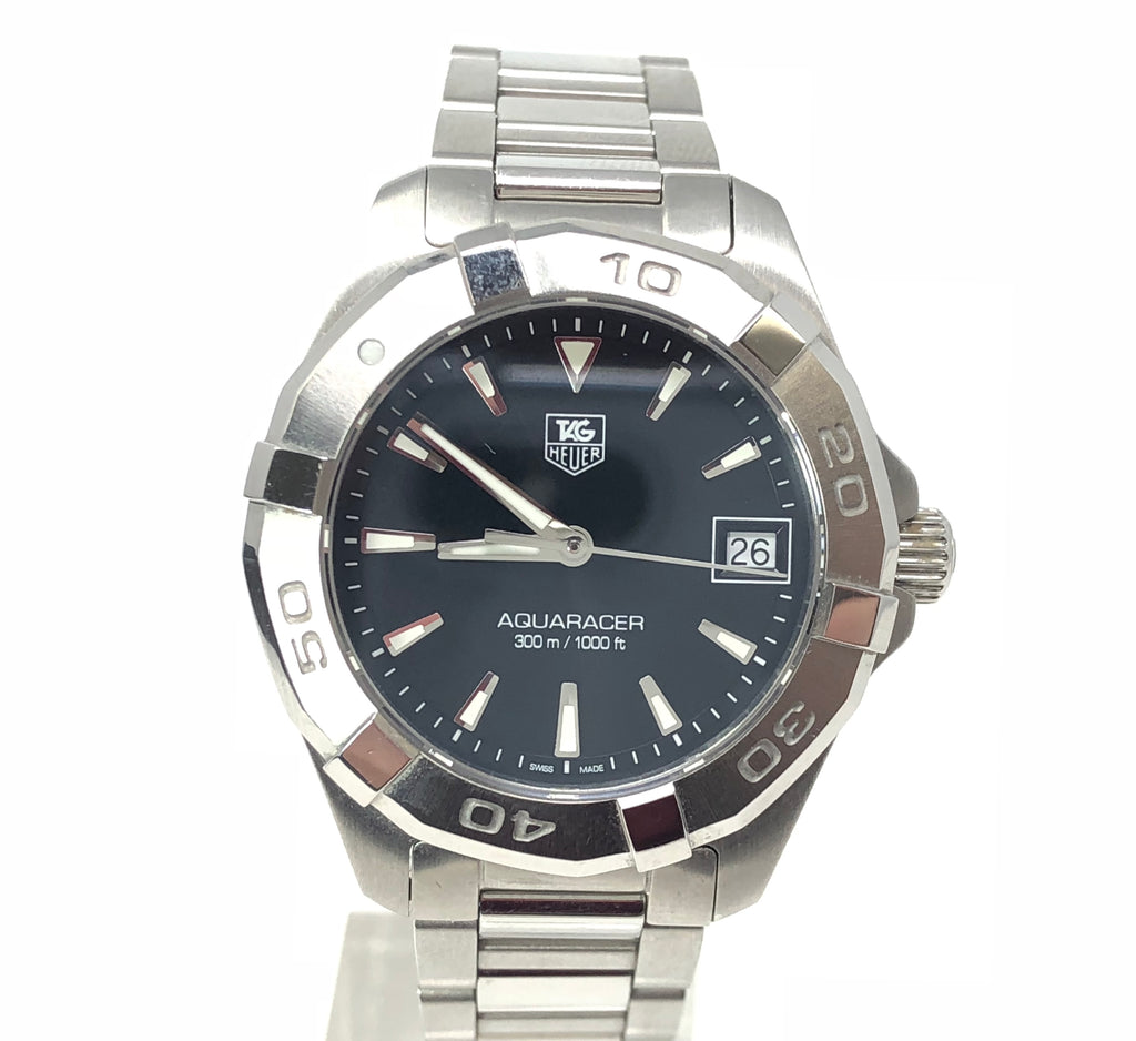 Tag Heuer Aquaracer WAY1310.BA0915 Black Dial Stainless Steel Ladies Watch