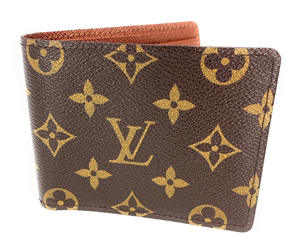 Louis Vuitton Men's Multiple Wallet Monogram Brown