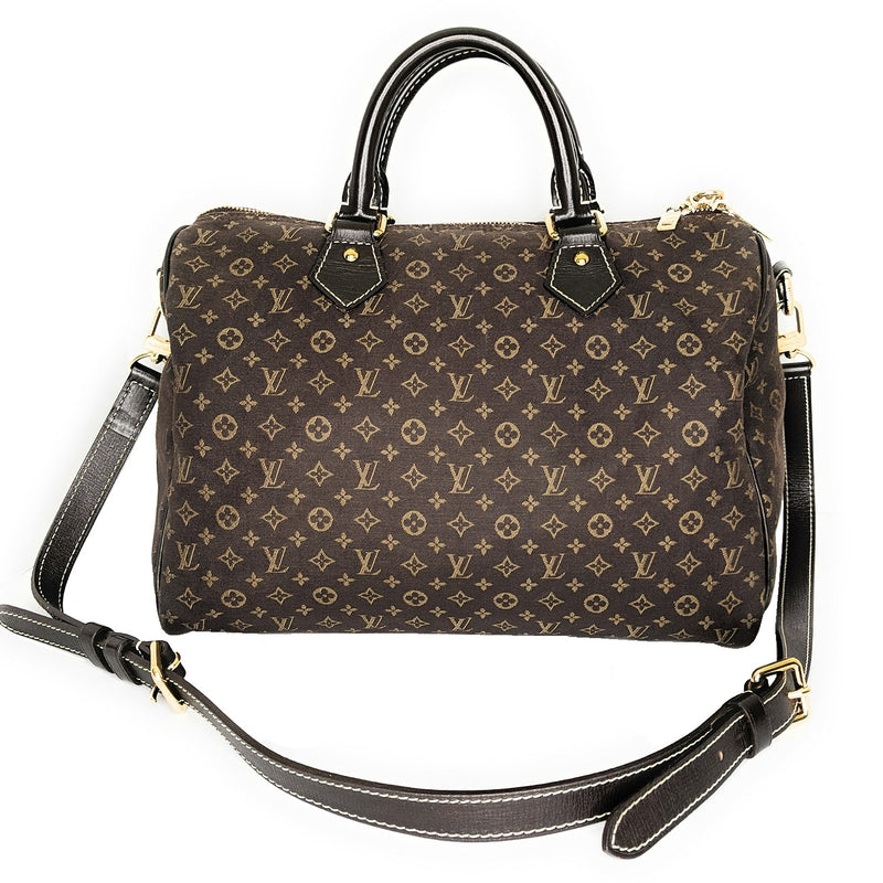 Louis Vuitton Monogram Idylle Canvas Speedy Bandouliere 30 Bag