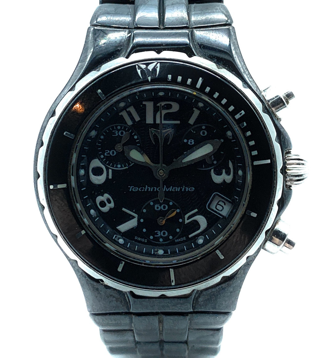 Technomarine TLCC 00584 Black Ceramic Ladies Watch