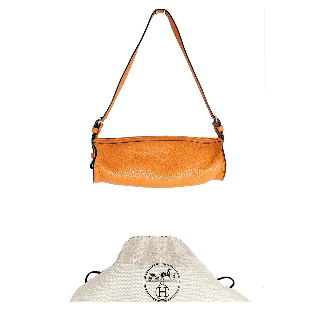 Hermès Clemence 25cm Doremi Shoulder Bag