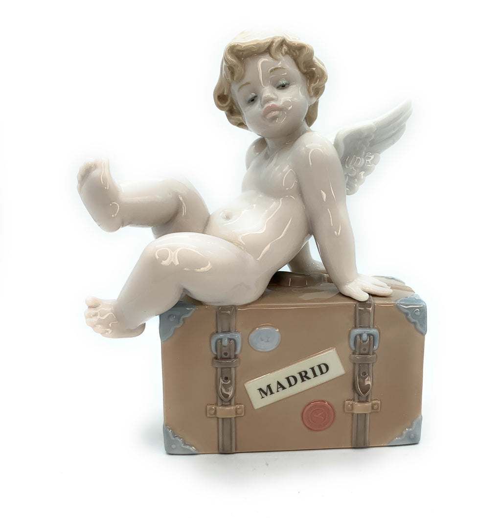 Lladro - 'Travel the World of Lladro Madrid' Angel Figurine