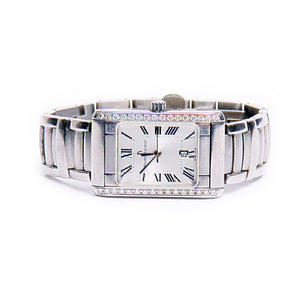 Maurice Lacroix Stainless Diamond Swiss Watch