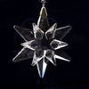 Swarovski 2005 Annual Lt Ed Crystal Snowflake Little Star Ornament COA w/ Box
