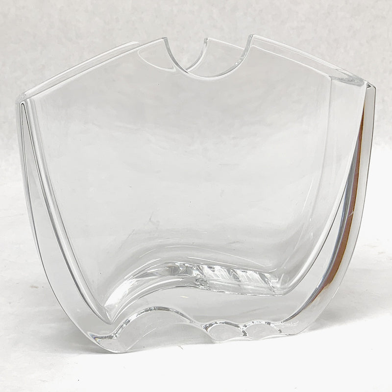 "Baccarat ""Oceanie"" Crystal Vase Designed by Thomas Bastide"