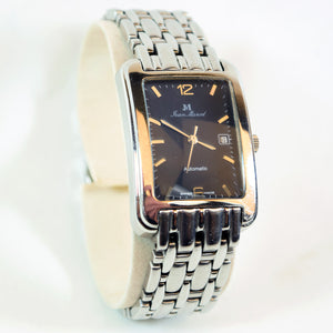 Jean Marcel Stainless Steel Automatics RETIRED Wrist Watch, 3 ATM 160.155