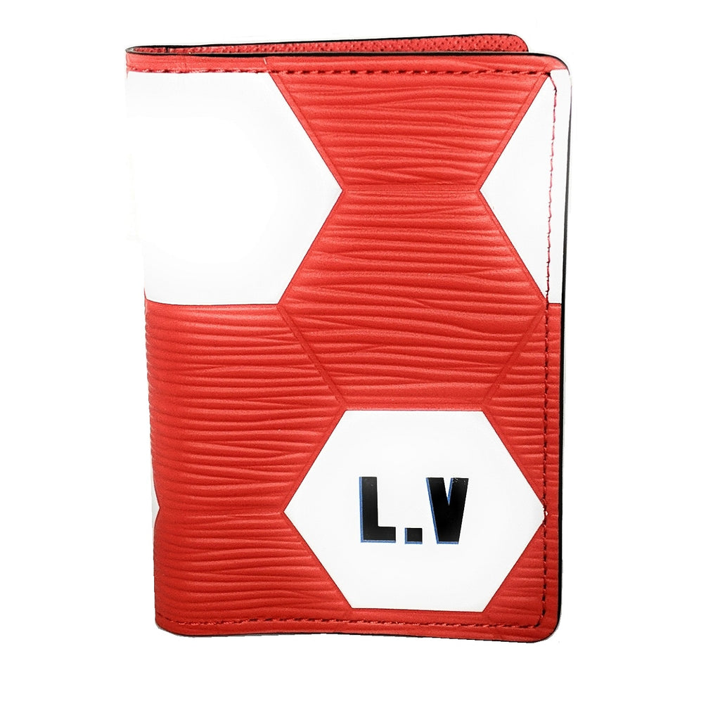Louis Vuitton EPI FIFA World Cup 2018 Pocket Organizer Wallet