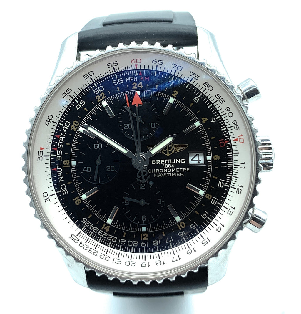 Breitling 1884 Chronometre Navitimer World Ref. A24322 Men's Watch - 46mm