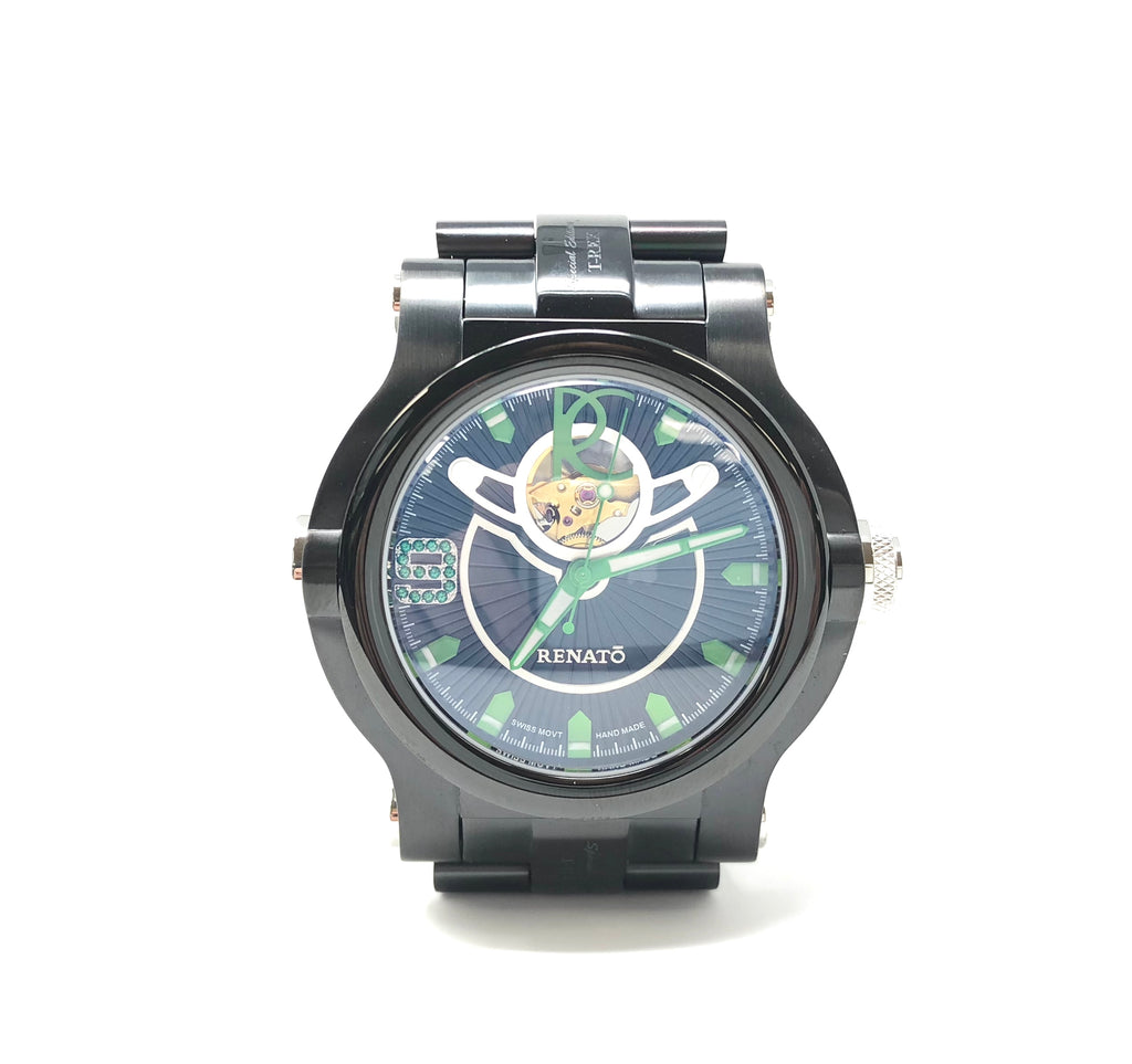 Renato Limited Edition T-Rex 18/125 Men's Watch Handmade