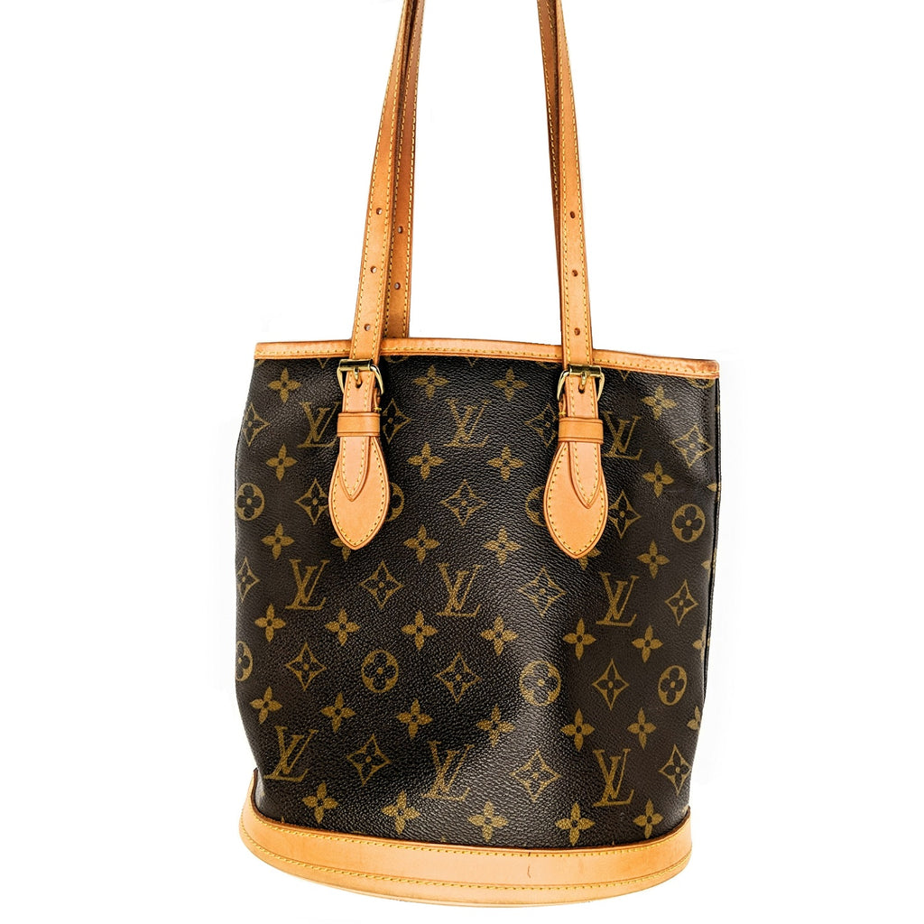 Louis Vuitton Monogram Canvas Petit Bucket
