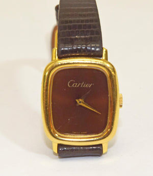 Vintage Must de Cartier Tank Argent Ladies Watch
