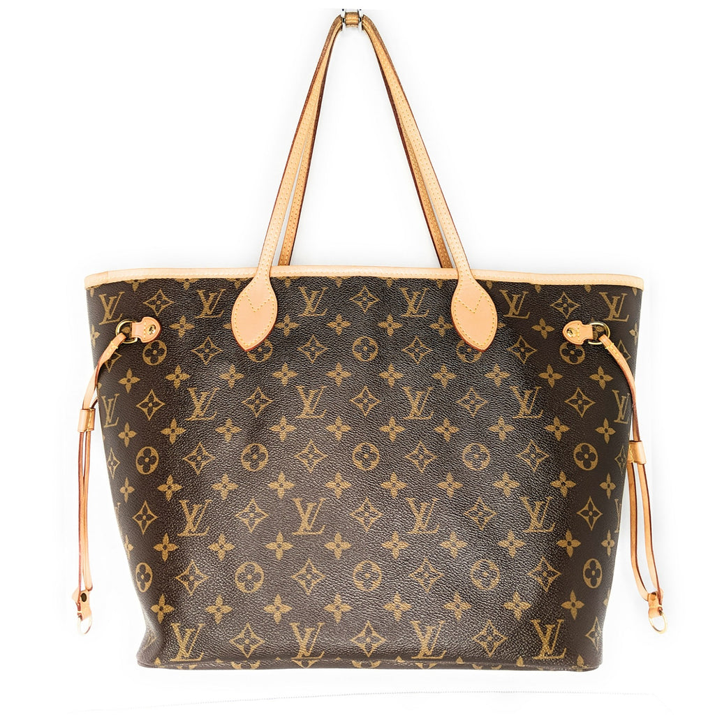 Louis Vuitton Monogram Canvas Neverfull MM Tote & Pouchette