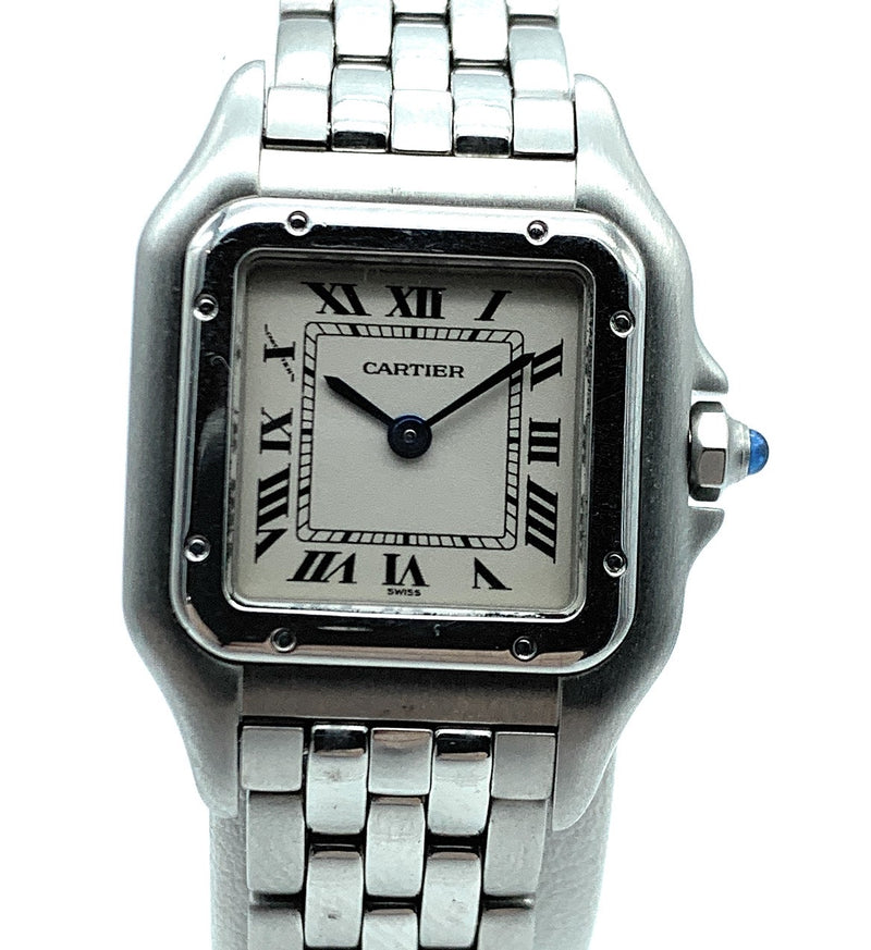 AUTHENTIC! Cartier Stainless Steel Panthere 1320 Ladies Watch