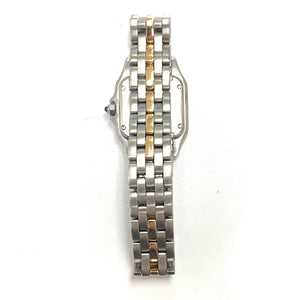 AUTHENTIC! Cartier 18K & Stainless Steel Panthère Ladies Watch