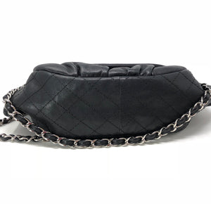Chanel Caviar Quilted Sac Bowling Single Flap Bag