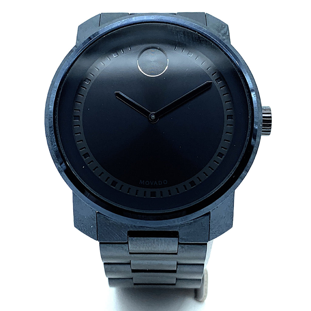 Movado BOLD Black Ceramic Men's Watch - 0607047