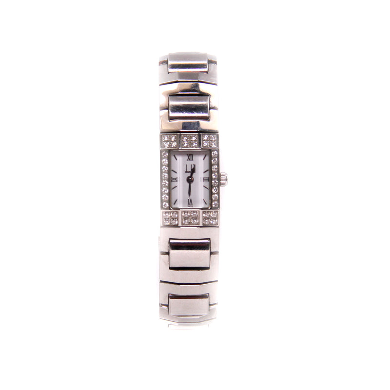 Dunhill Stainless Diamond Accented Watch