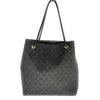 Gucci Nylon GG Monogram Tote Black