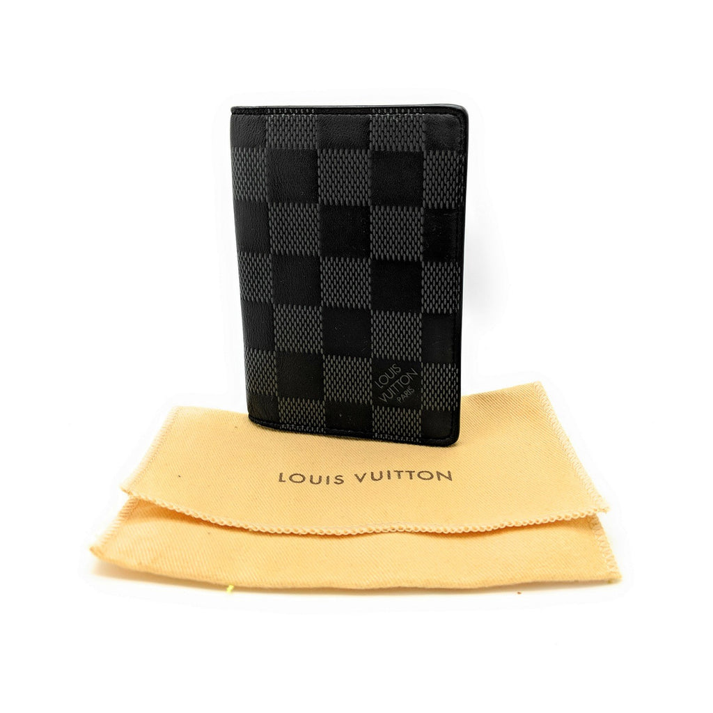Louis Vuitton Damier Graphite Pocket Organizer Wallet