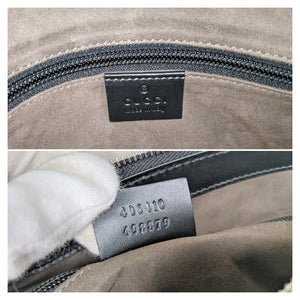 Gucci Black Signature Small Messenger Bag